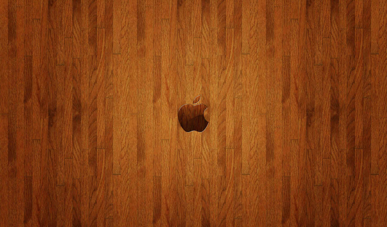 apple, logo, free, wooden, ecran, fonds, this, friends,