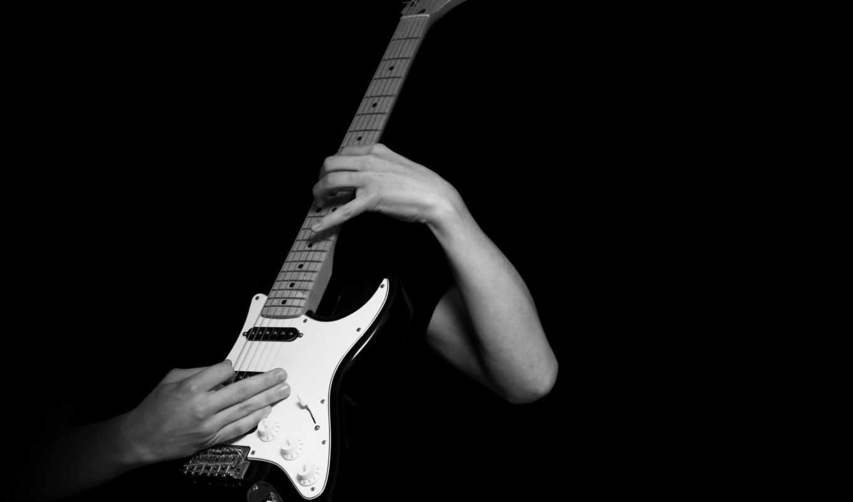 ,гитара,руки,гриф,струны