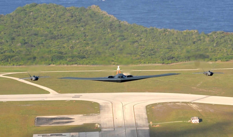northrop,  b2,стелс, b-2, spirit, самолёт, авиация, истребители, бомбардировщик, стратегический, военный, невидимка, взлёт, малозаметный, взлетная, полоса,