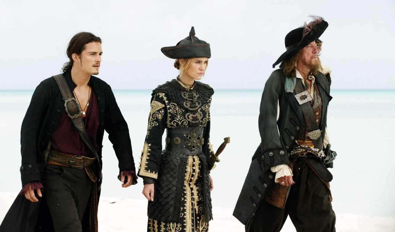 пираты, моря, карибского, the, pirates, краю, свет