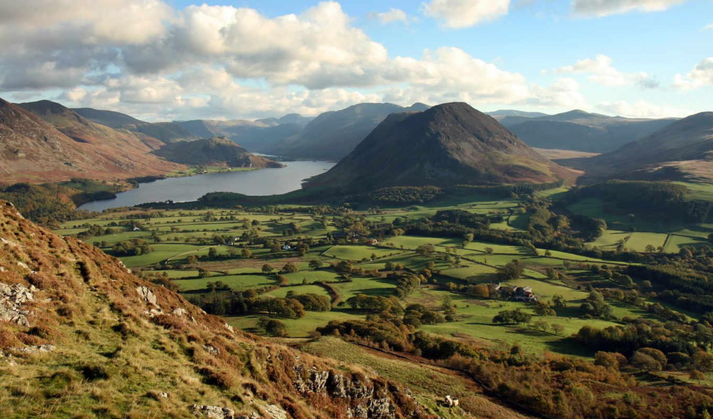 озеро, district, national, природа, park, картинка, горы,