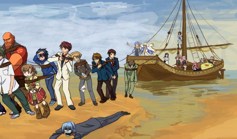 anime, море, корабль, красивые, erotica, игры, anon, top, разное, фэндомы,