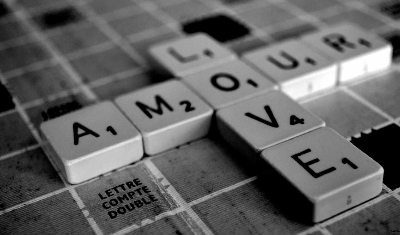 любовь, чёрно, белые, квадраты, картинка, буквы, que, amor, por, смотрите, картинку, más, игра, любого,