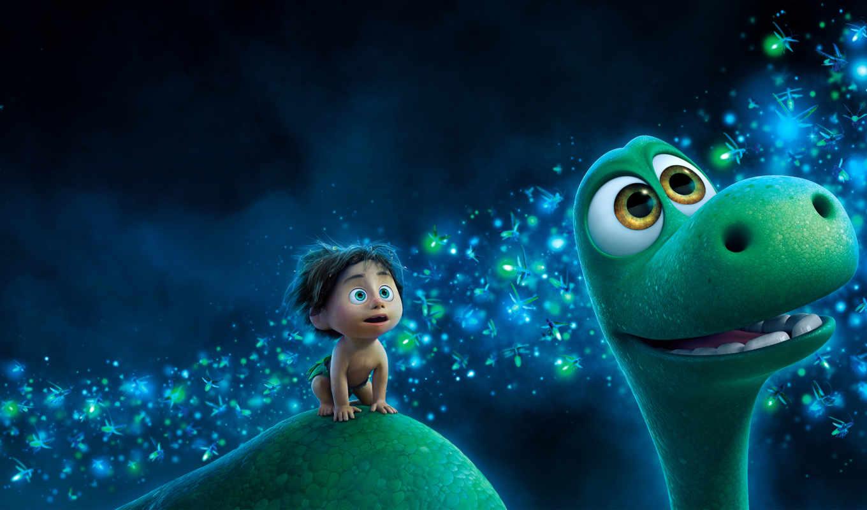 динозавр, хороший, movie, that, pixar, семья, full, free,
