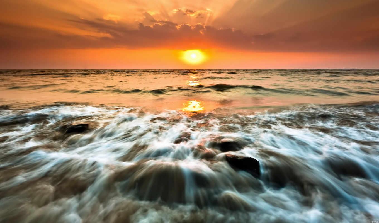 природа, закаты, sun, india, страны, mobile, картинка, рассветы,