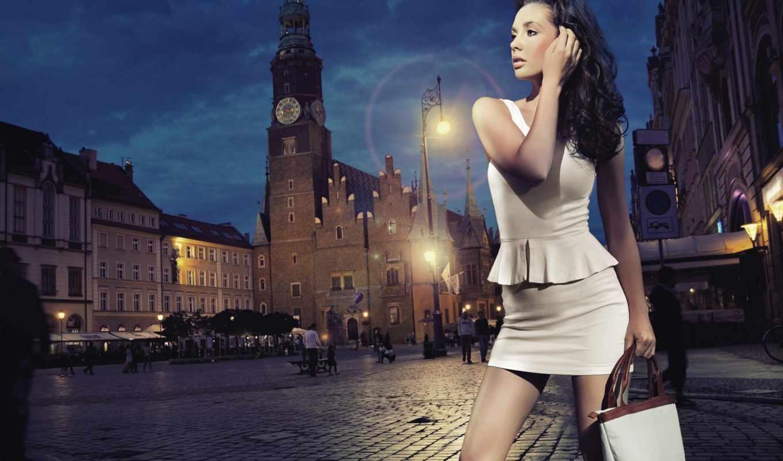 вечер, хороший, девушка, городе, вечера, аватар, молодая, города, женщина, фотосессия, женская,