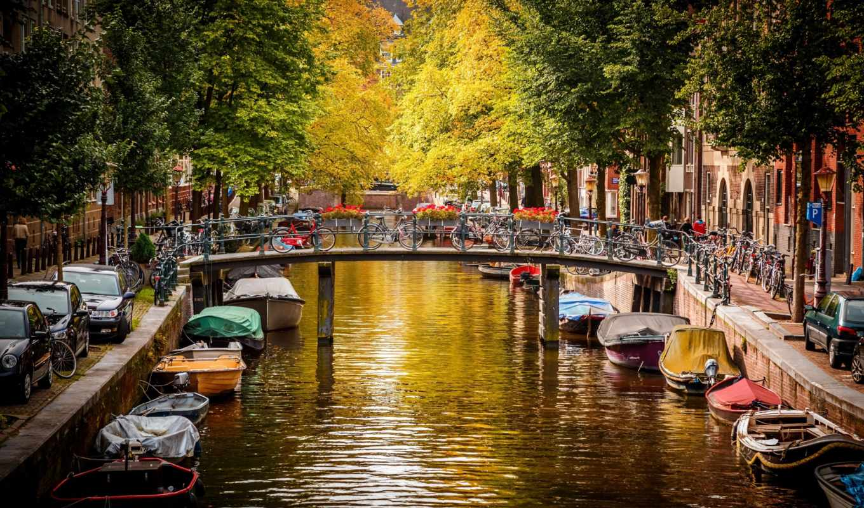 амстердам, нидерланды, nederland, картинка, картинку,