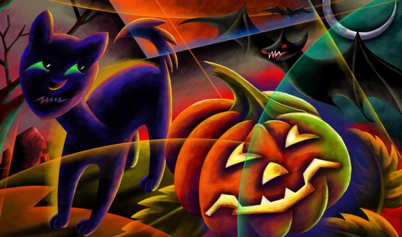 halloween, desktop, scary,