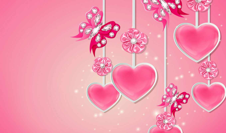 сердечки, день, валентина, святого, коллекция,