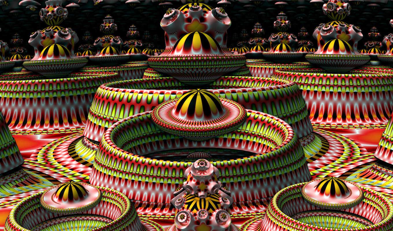 графика, абстракция, fractal, фракталы,