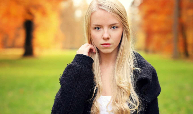 women, blonde, eyes, волосы, модель, blue, desktop,