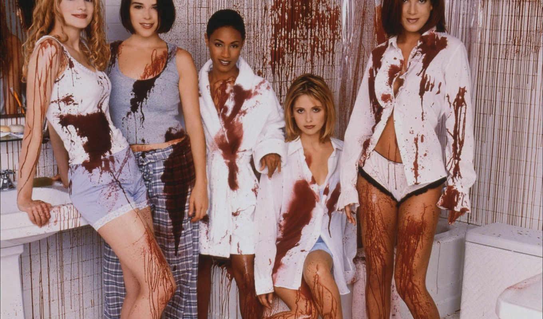 картинку, обоями, девушки, girls, lingerie, размере, michelle, просмотреть, film, реальном, sarah, крик, scream, gellar, барышня, развратной,