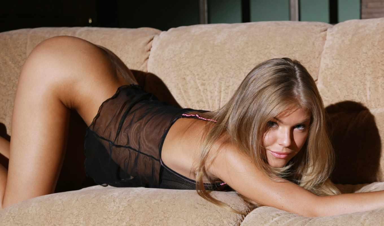 диван, блондинка, inga, поза, desires, erotic, volume, картинка, девушки, trance,