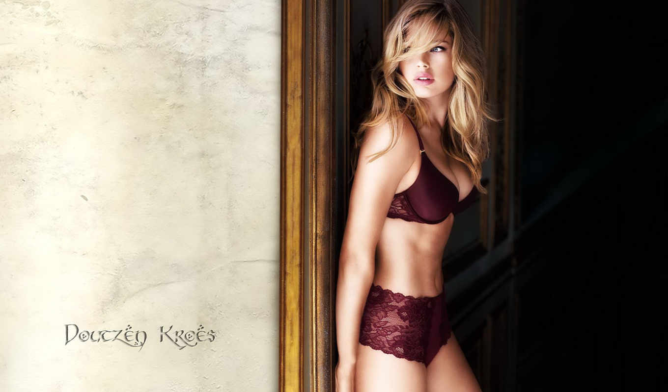 kroes, doutzen, lingerie, girls, one, девушки, desktop,