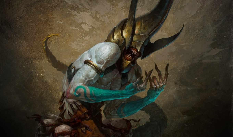 diablo, viper, tomb, iii, игры, witch, doctor, playstation, монстры,