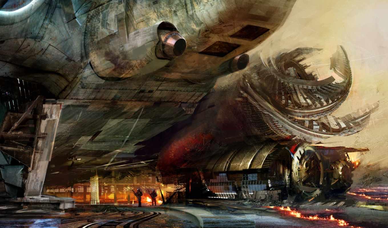 корабль, science, фантастика, даниэль, школьные, puzzle, рюкзаки,