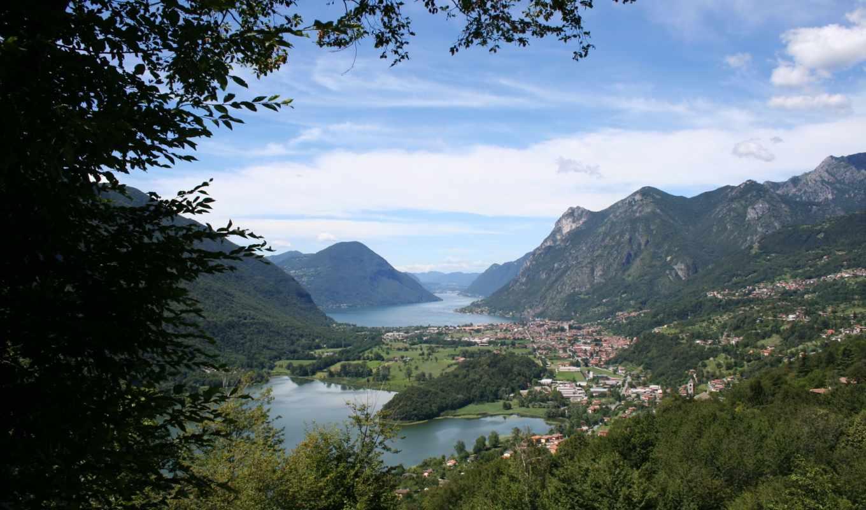 природа, картинка, lombardia, landscape, italy, горы, изображение, carlazzo,