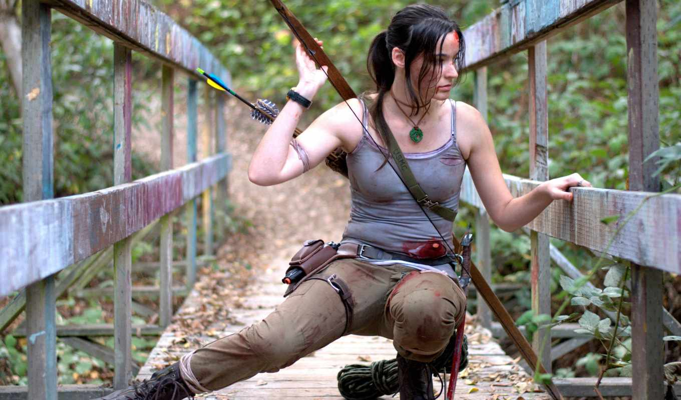 cosplay, tomb, raider, croft, лара, definition, флетчер,