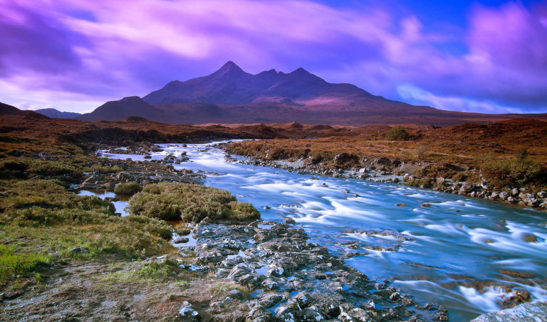река, горная, ipad, красивых,
