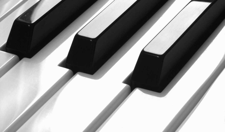 пианино, клавиши, музыка, картинка, mixed,