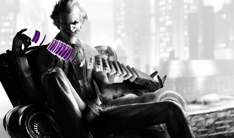 city, arkham, batman, джокер, карты, max, игры,