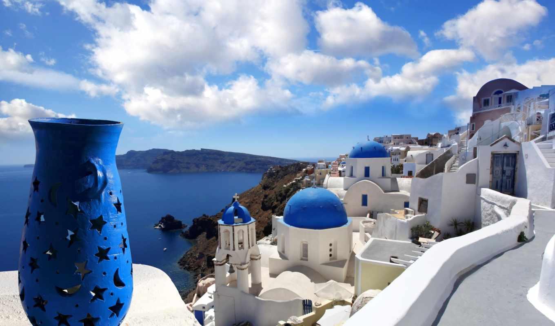 greece, santorini, крит, во, греции, культуры,