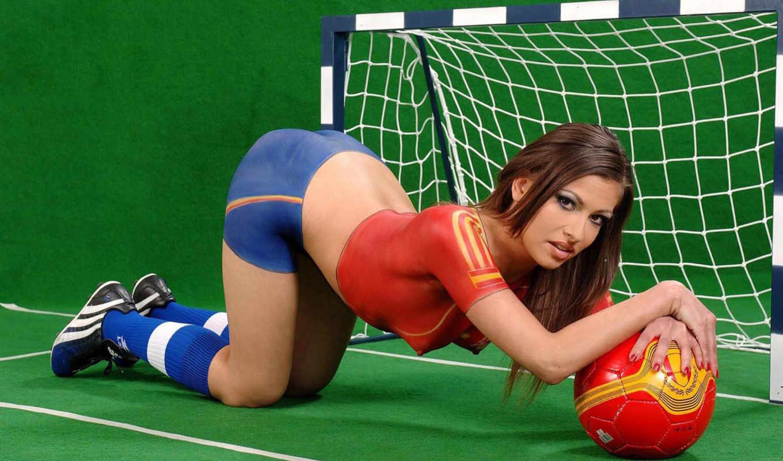 футбол, baby, sexy, футболу, болельщицы, самые, мира, испании,