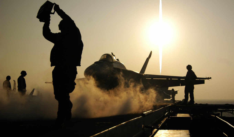 истрибитель, тень, лучи, картинка, aircraft, картинку, plane, полет, старт, солнце, авианосец,