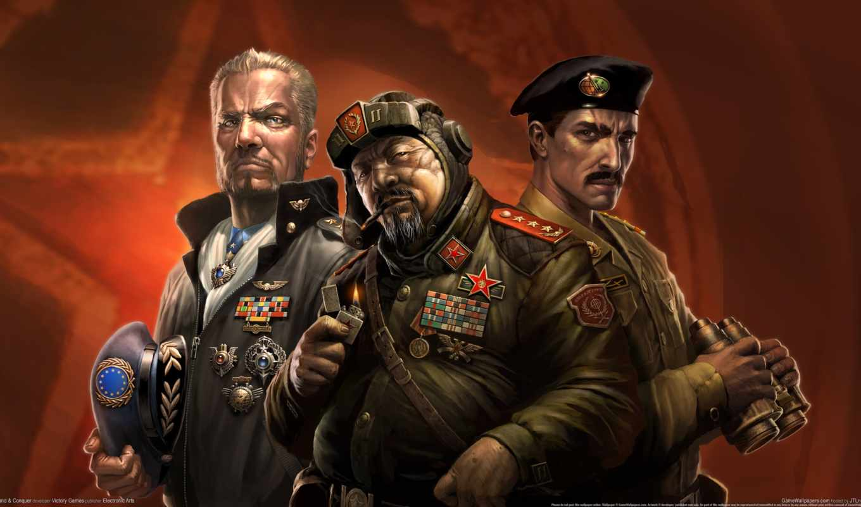 command, conquer, generals,
