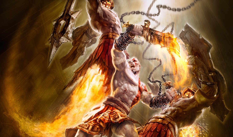 god, war, game, games, kratos,