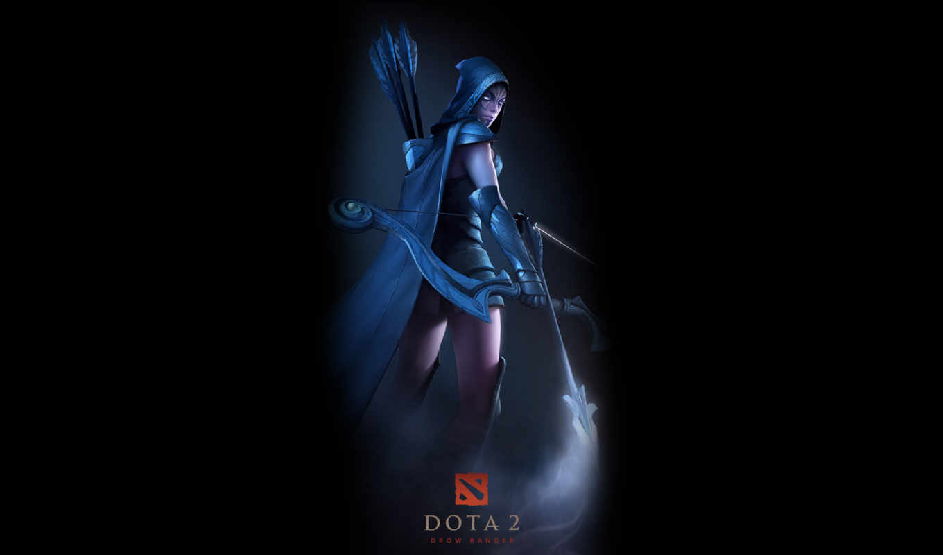 dota, часть, heroes, gamewallpapers, valve, game, desktop, downranger, background, are,
