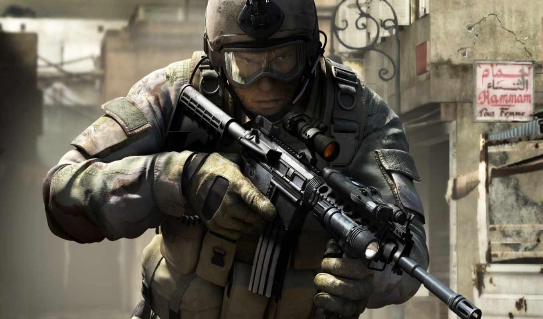 игры, война, солдат, самых, socom, navy, seals, оружие, во,