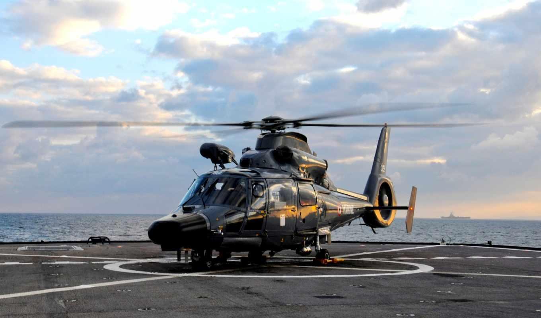 авианосец, средиземное, море, авиация, eurocopter,