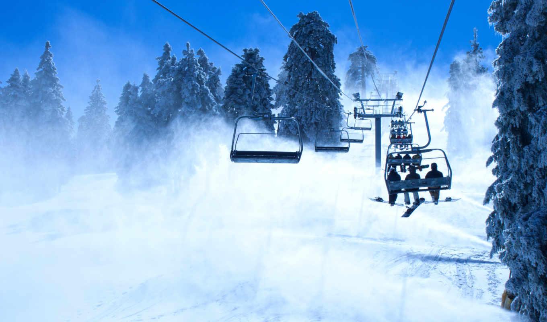 сноуборд, снег, горы, деревья, сноубордисты, подъёмник, спорт, snowboarding, chairlift, картинка, day, other, went, took, адреналин, desktop,