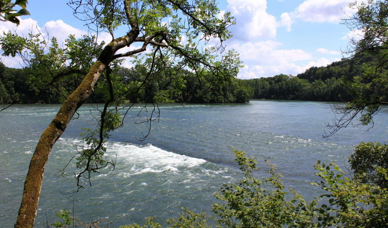 природа, швейцария, реки, landscape, горы, деревья, usa, morschach,