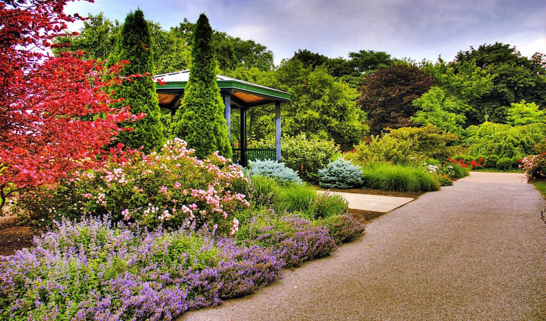 garden, природа, design, парке, landscape, флот, деревя, широкоформатные, красивый, бесплатные,
