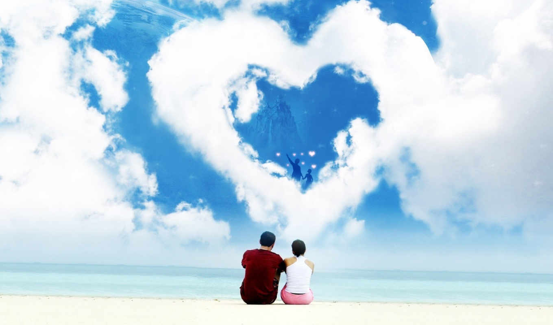 сердце, love, pair,