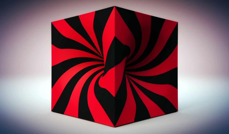 design, полоса, картинка, color, кубик, материал, иллюзия, цвета, optical, line, blue