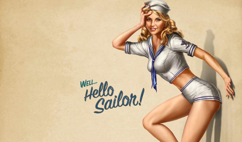 battlestations, морячка, рисунок, игры, midway, psp, house, games, смотрите, desktop, видео, дата, girl, pack,