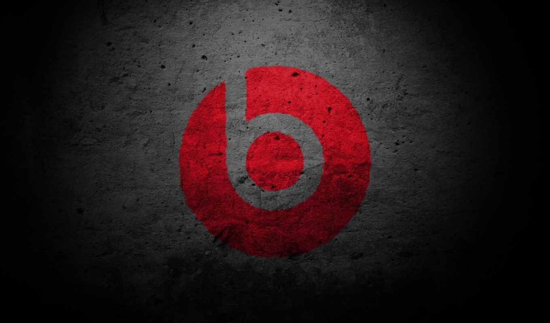 beats, dre, dr, monster, наушники, текстура, красный, креатив, красиво, минимализм, тёмные, картинка, audio,