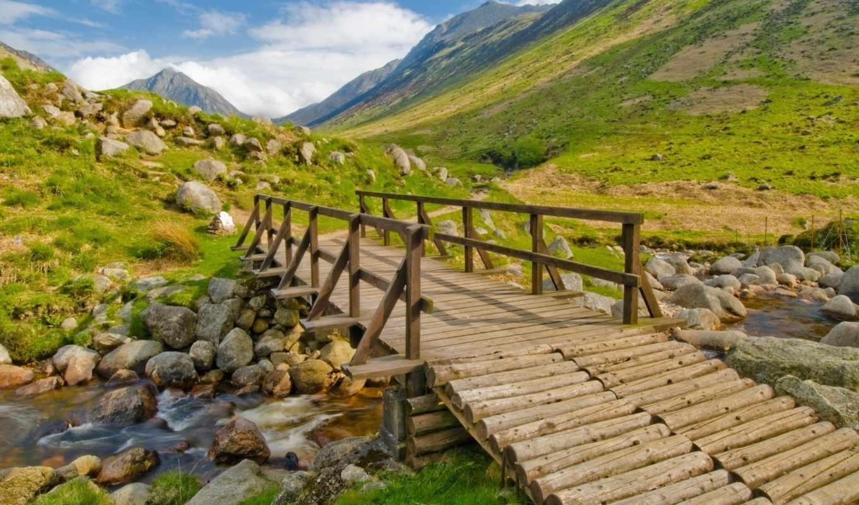 nature, zipapp, unarchiver, bridge, free, background, scenic, iphone, screenshot, brook, ipad, across,