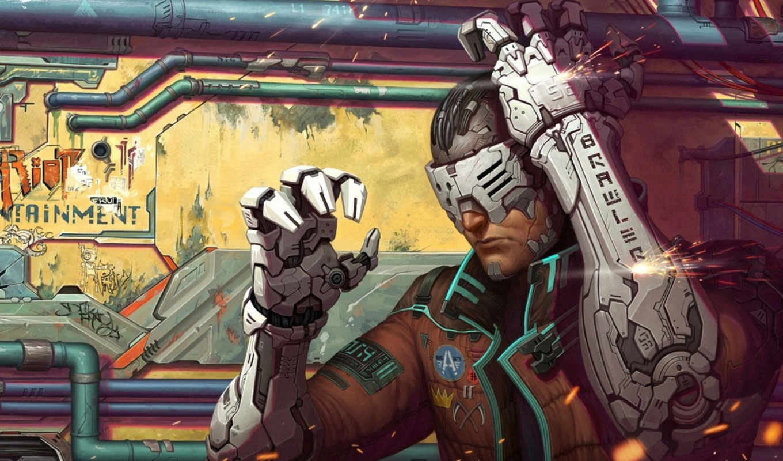art, cyberpunk, vertigo, science, фантастика, anime, cyborgs, дневник,