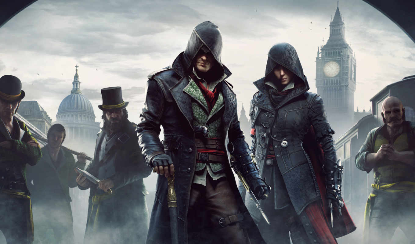 creed, assassin, syndicate, игры,
