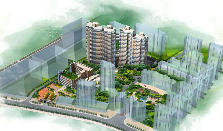 архитектура, photoshop, cu, tincom, concept, van, проект, pháp, китайских, мастеров,