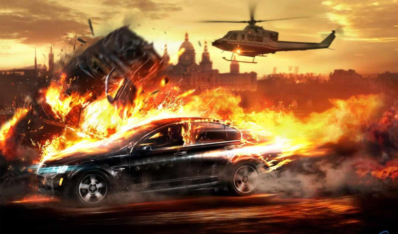 картинка, эпизод, игра, games, best, feu, voiture,