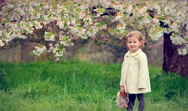дети, настроение, цветы, девушка, радость, люди, obraz, телефон, категории, ребенок,