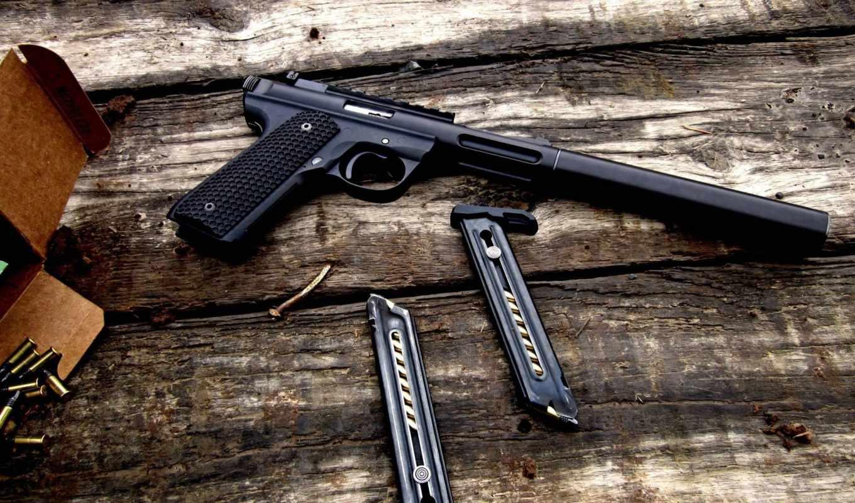 Обои пистолет. Разное foto 18