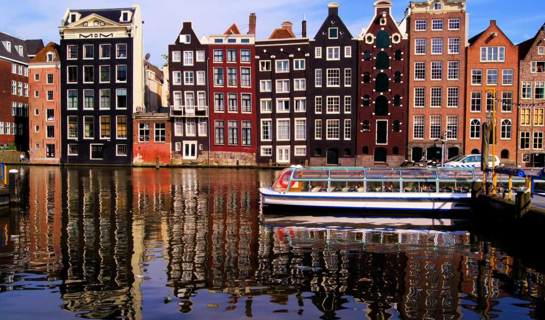 нидерланды, amsterdam, nederland, города, нидерландов,
