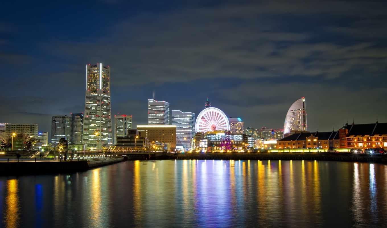 город, ночь, огни, города, небоскребы, фотообои, вектор, rub, дорога, bar,