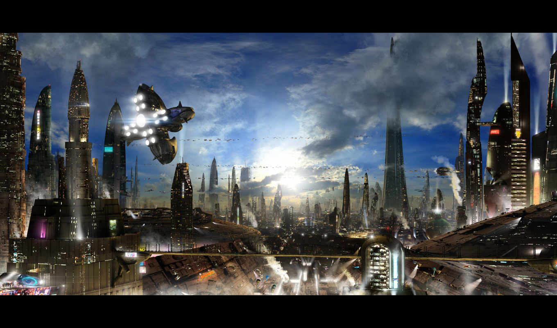 город, civilization, будущего, futuristic, сможете, art, world, категории, города,